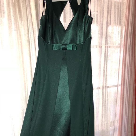 Dresses   Emerald Green Evening Gown   Poshmark